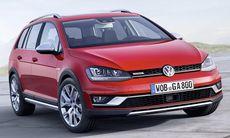 Nya Volkswagen Golf Alltrack – helt ny modell – bilder och fakta