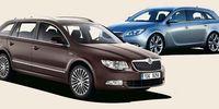 BEG: Opel Insignia mot Skoda Superb - fyndpris!