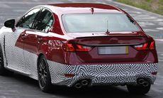 Spion: Lexus GS F äntligen på gång med V8-motor utan turbo