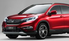 Honda CR-V får ett lyft med niostegad automatlåda