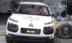 Euro NCAP: Mercedes och Nissan får toppbetyg – inte Citroën