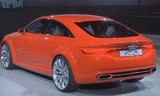 Audi premiärvisar snygga konceptbilen TT Sportback