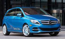 Mercedes B-klass med Tesla-teknik utmanar BMW i3