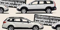 BEG: Volvo XC70 och Subaru Outback