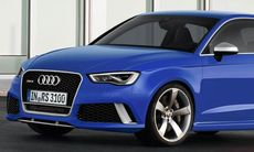 Första uppgifterna: Audi RS 3 blir starkare, snabbare och roligare