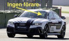Audi visade upp självkörande RS 7 på Hockenheim – i racetempo