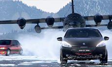 Peugeot lanserar specialversion av 208 GTI med actionfylld reklamfilm