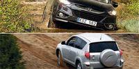 BEG: Toyota RAV4 och Hyundai ix35 - populära suvar