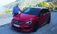 """Mercedes B-klass provkörd: """"Fantastiskt utveckling"""""""