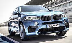 BMW X5 M och X6 M ställer Porsche Cayenne Turbo i skamvrån