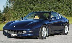Kungens Ferrari 456 M GT till salu för 700.000 kronor