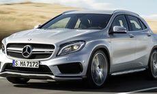 Mercedes GLA 45 AMG – alla bilder och fakta
