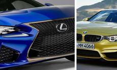 Lexus RC-F – allvarlig utmanare till BMW M4