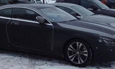 Spion: Mercedes S-klass Coupé siktad på Arlanda