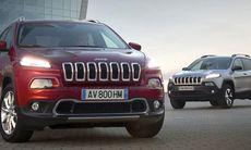 Jeep Cherokee till Sverige i april – med nya motorer