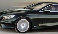 Mercedes S-klass Coupé – här är första bilden