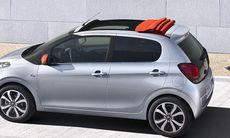 Nya Citroën C1 – citybil i ny tappning – alla fakta