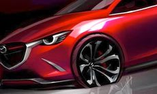 Mazda Hazumi läcker ut – nya Mazda 2?