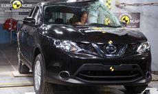 Nissan Qashqai får fem stjärnor i Euro NCAP