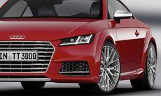 Officiell: Audi TT – lite snyggare och lite snålare