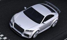 Audi TT quattro sport concept – extrem körmaskin med 420 hk