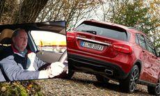 Vi provkör Mercedes GLA – ny i crossoverklassen