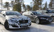 Spion: Jaguar XJ visar upp sig – ser du skillnaderna?