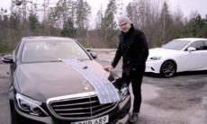 Film: Mercedes C-klass mot 4 utmanare
