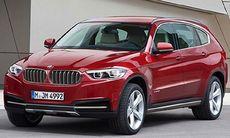 BMW X7 ska byggas – blir sjusitsig – första bilden