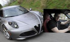 """Vi provkör Alfa Romeo 4C: """"Som en fyrcylindrig Ferrari!"""""""