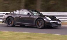 Är det nya boxerfyran med turbo som Porsche testar?
