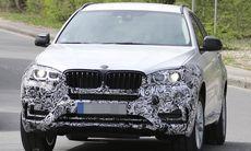 Spion: BMW X6 testkörs i Tyskland