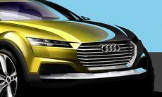 Audi Q4 är redo för premiär – första skisserna