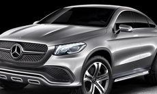 Mercedes Concept Coupé SUV – ska knäcka BMW X6