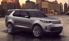 Nya Land Rover Discovery – först ut i nya suv-familjen