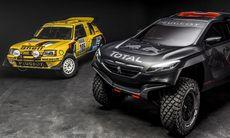 Peugeot 2008 DKR skippar fyrhjulsdriften