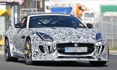 Spion: Jaguar F-Type blir ännu snabbare