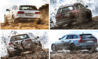 Test: Audi A6 Allroad, Mercedes E All-terrain, VW Passat Alltrack, Volvo V90 Cross Country – höjdarkombis