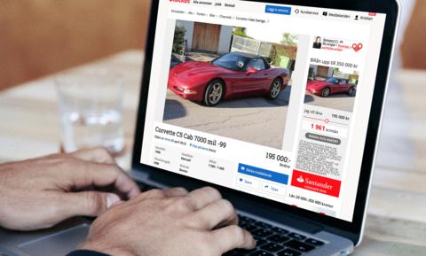 sälja bil åt någon annan