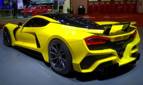 världens snabbaste bilar 2018