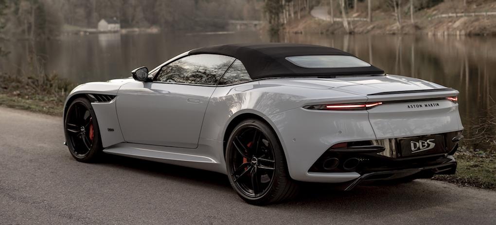 Aston Martin Dbs Superleggera Volante Ar Lika Vacker Som Namnet Ar Langt