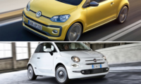 Begduell: Fiat 500 mot VW Up