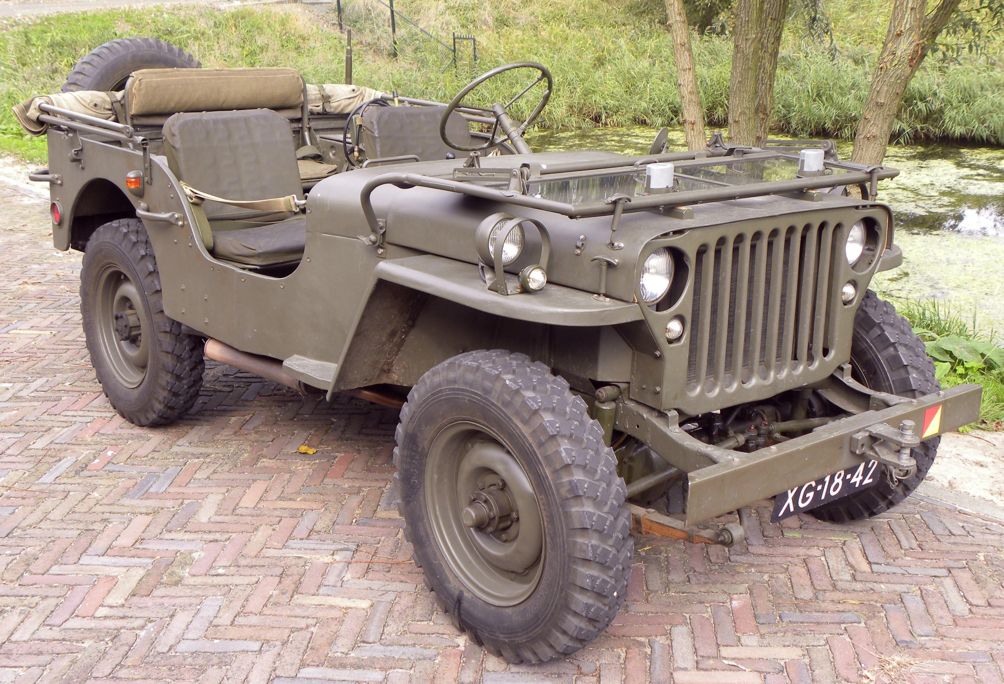 Bilen som vann andra varldskriget