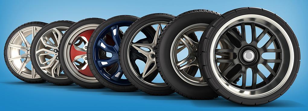 Картинки колеса с литыми дисками
