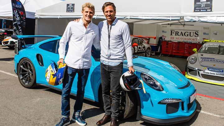 Marcus Ericsson Korde Henrik Lundqvist I Porsche 911 Gt3 Rs Auto